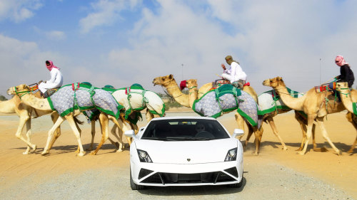 Supercar Roadtrip with 5 World-Class Vehicles