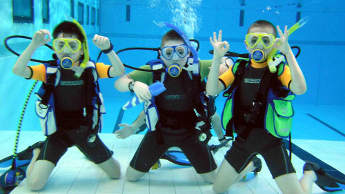 PADI Bubblemakers Scuba Experience for Juniors