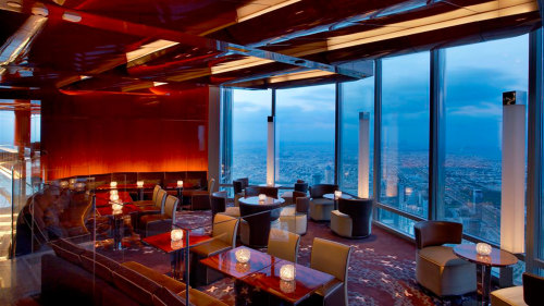 Meal at Atmosphere in the Burj Khalifa