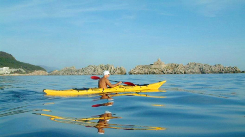 Full-Day Kolocep Kayaking & Walking Island Tour