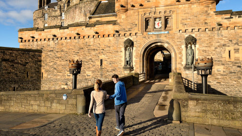 Fast-Track Admission to Edinburgh Castle