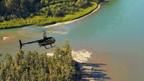 Doors-Off Helicopter Tour of North Saskatchewan River Valley