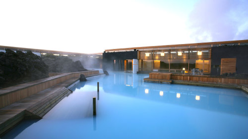The Blue Lagoon from Keflavik Airport & Shared Shuttle to Reykjavik