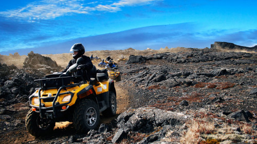 Quad Bike & Blue Lagoon Tour