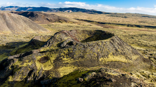 Countless Craters & Blue Lagoon Helicopter Tour