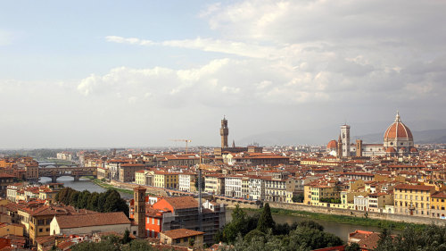 Florence in 1 Day Combo Saver: Walking Tour with Accademia & Uffizi
