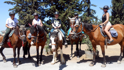 Horseback Riding in Tuscany with Chianti Wine Tasting