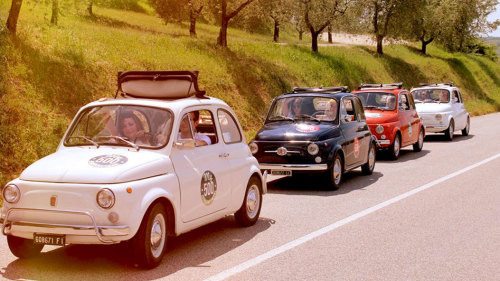 Vintage Fiat 500 Tour of Florence by My Tour
