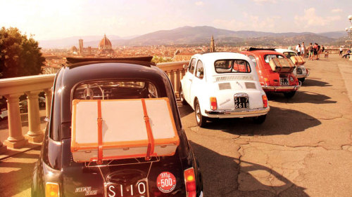Vintage Fiat 500 Tuscany Drive with Winery Lunch by My Tour