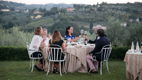 Winetasting & Dinner at a Private Florence Vineyard