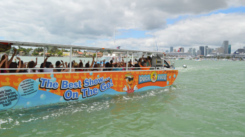 Amphibious Duck Tour