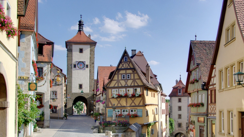 Rothenburg Day Trip along the Romantic Road