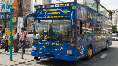 Hop-On Hop-Off Pass by Frankfurt City Tour