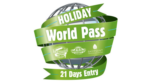 Dreamworld, WhiteWater World & SkyPoint 21-Day Holiday World Pass