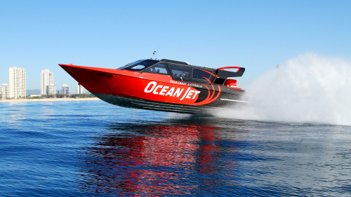 Thrill Jet Boat Ride by Ocean Jet Boating