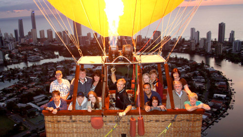 Hot Air Balloon Ride with Champagne Breakfast by Balloon Aloft Gold Coast