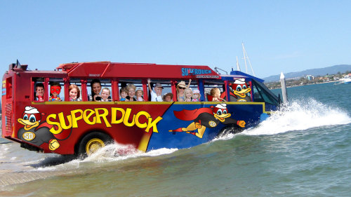 Superduck Adventure Tour by Rivers Cruises