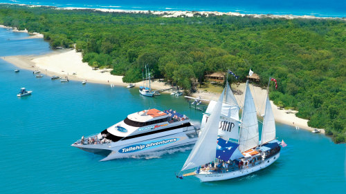 Half-Day Stradbroke Island Cruise & Tour by Tallship Island Adventures