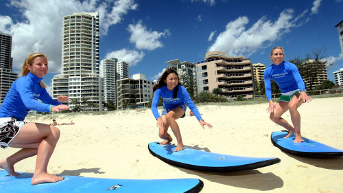 Gold Coast Surfing Lesson by Go Ride a Wave