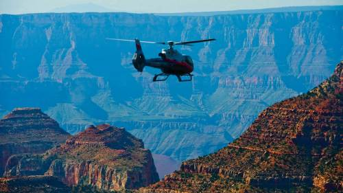 Maverick Helicopters: Scenic Grand Canyon Tour with the Dragon Corridor