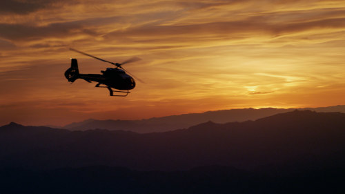 Sundance Helicopters: Sunset Escape & Limo Transfer
