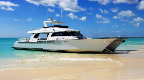 Excellence Power Catamaran to Barbuda