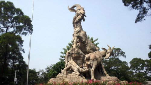 Half-Day Tour of Yuexiu Park & Shangxiajiu Pedestrian Street by Shanghai Hang Tan Travel