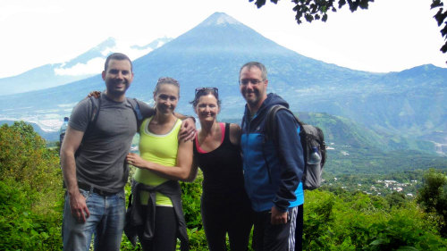 Pacaya Volcano Hike & Thermal Baths Tour
