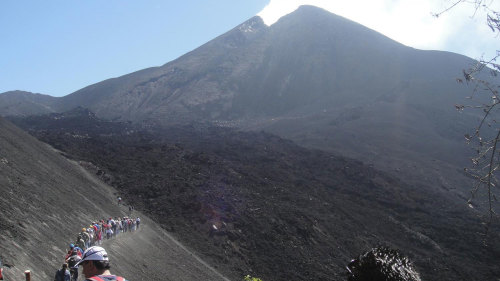 Pacaya Volcano Trek with Visit to Kawilal Thermal Baths