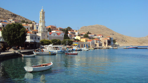 Butterfly Valley & Island of Halki Full-Day Tour
