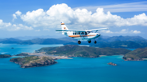 Air Transfer: Whitsunday Airport (WSY) - Hamilton Island Airport (HTI)