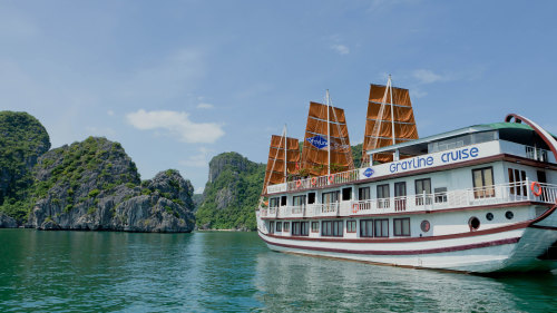 Halong Bay 2-Day 1-Night Boat Cruise by Threeland Travel