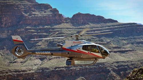 Mustang Helicopters: Grand Canyon West Air Tour