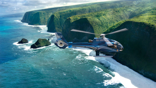 Valleys & Waterfalls Helicopter Tour by Blue Hawaiian Helicopters