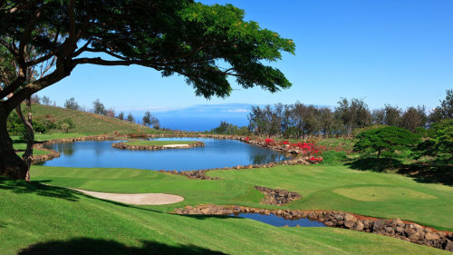 18 Holes at Big Island Country Club