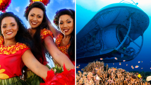 Submarine Ride & Island Breeze Luau Combo Tour
