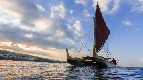 Historical Sailing Canoe Tour