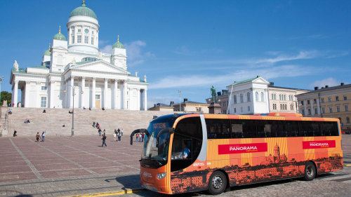 Panoramic Sightseeing Audio Tour by Helsinki Panorma