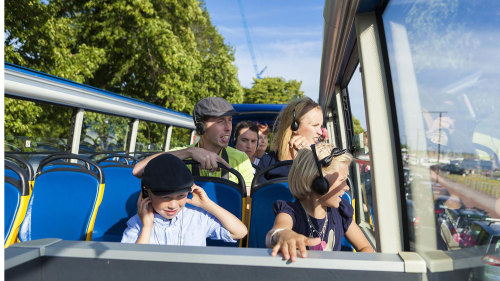 Hop-On Hop-Off Bus Tour & Sightseeing Cruise