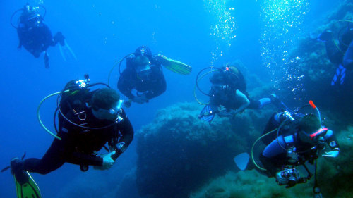 Discovering Scuba Diving in Heraklion