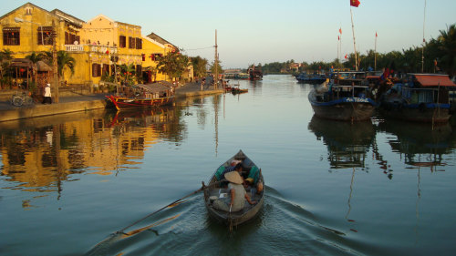 Private Thu Bon River Cruise to Craft Villages by Threeland Travel