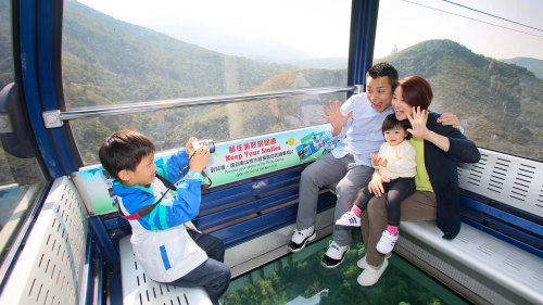Combo: Ngong Ping 360 Cable Car, Airport Express & 1-Day MTR Ticket