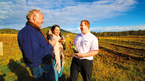 Hunter Valley Harvest Wine Experience by AAT Kings