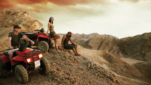 Quad Biking, Camel Ride & Bedouin Barbecue at Sunset
