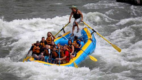 Scenic Float and Whitewater Rafting Excursion with Breakfast