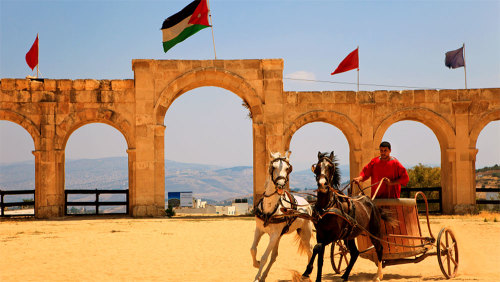 Private Full-Day Tour of Jerash, Ajloun Castle & Umm Qais