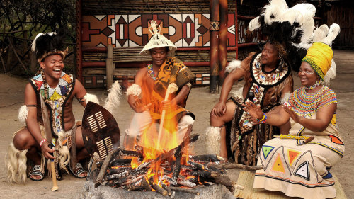 Lesedi Cultural Village Half-Day Tour