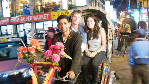 Small-Group Rickshaw Night Explorer Tour by Urban Adventures