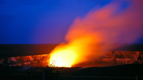 Kilauea Volcano & Sunset Lava Walk