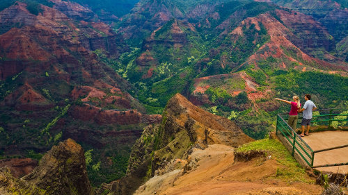 Wailua River & Waimea Canyon Tour